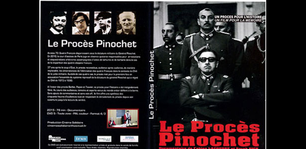 DVD Procès de Pinochet