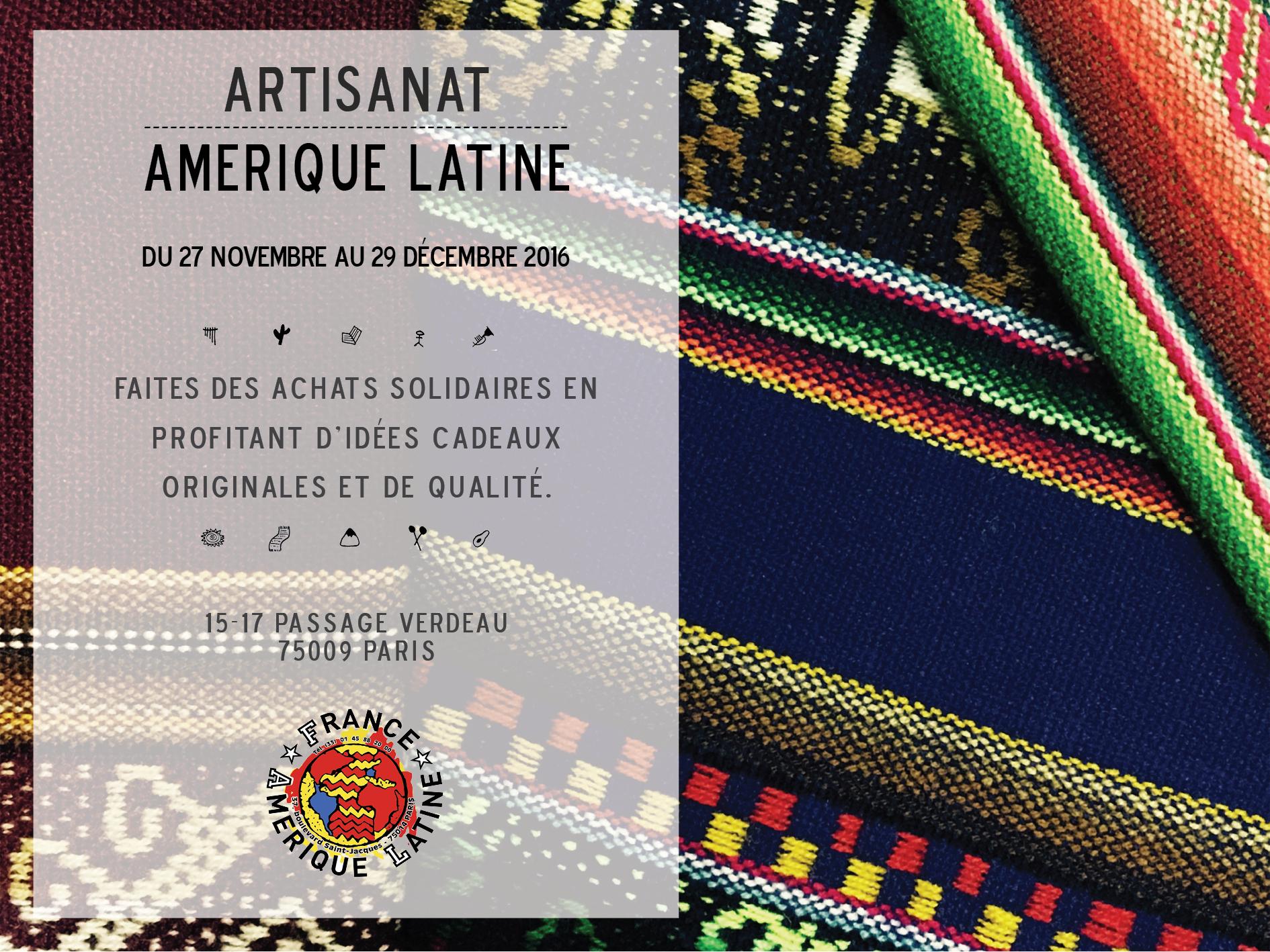 Vente d'Artisanat Solidaire @ Passage Verdeau | Paris | Île-de-France | France