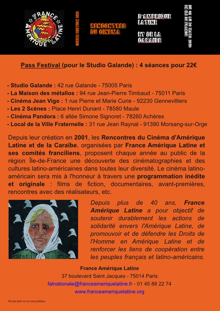 Rencontre latine 2016
