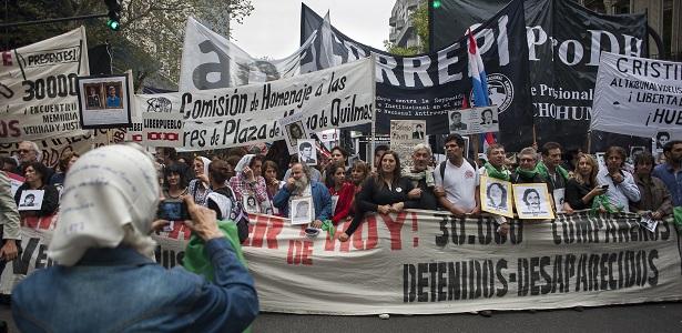 Commémoration du 40ème anniversaire du Coup d\\\'Etat en Argentine