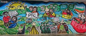 peinture murale Celendín CF 2
