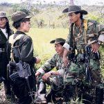 Membres des FARC dans l'Etat de Caquetá, 2000 Photographies de Maurice Lemoine
