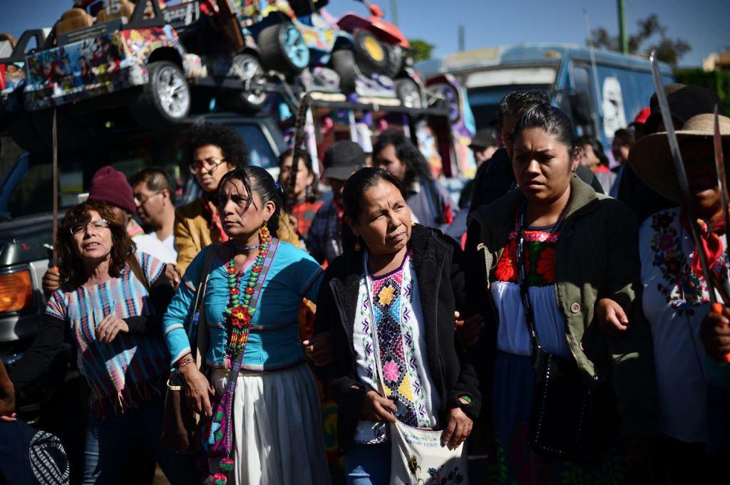 État de Mexico: Marichuy et la douleur des femmes. (Blog: «De l'autre côté du charco»)