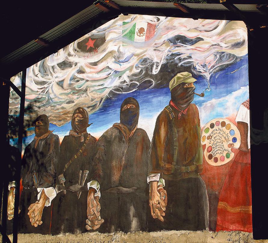 Presque quinze ans d'auto-gouvernement zapatiste: au Chiapas, la révolution s'obstine (François Cusset/ Le Monde Diplomatique/ article de juillet 2017 en accès libre)