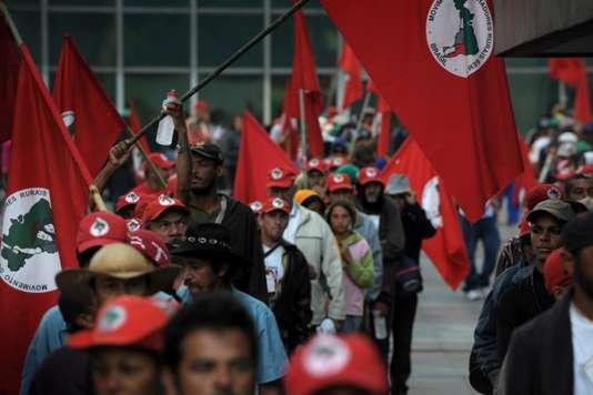 Brésil: appel urgent contre l'expulsion de 450 familles de paysans sans terre