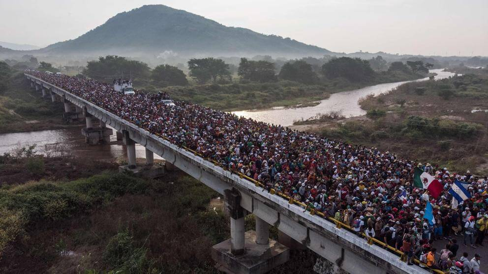 Migrants: Trump envoie 5.000 soldats à la frontière mexicaine pour stopper la caravane (AFP/Courrier International)