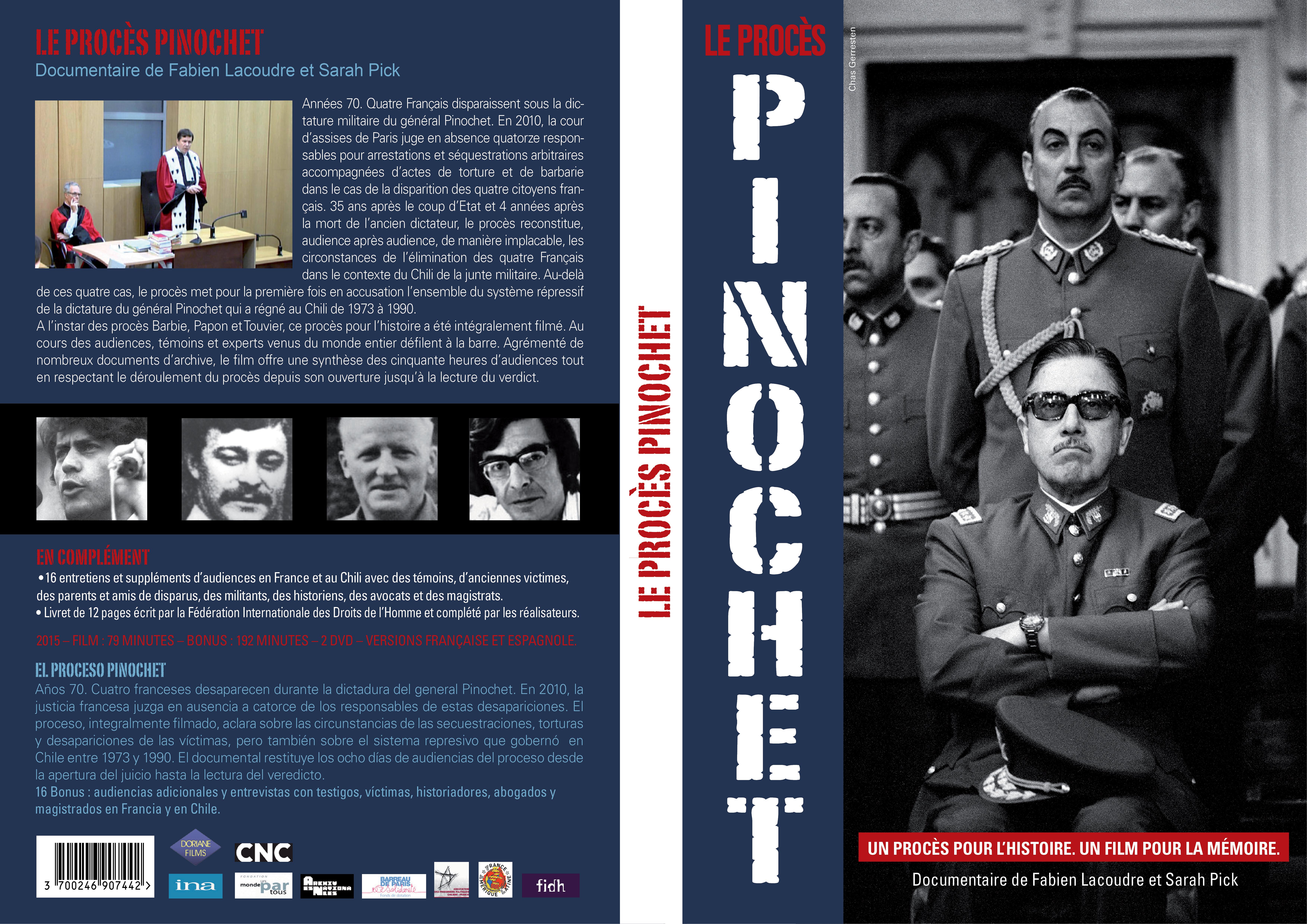 Le procès Pinochet en Film et Coffret DVD