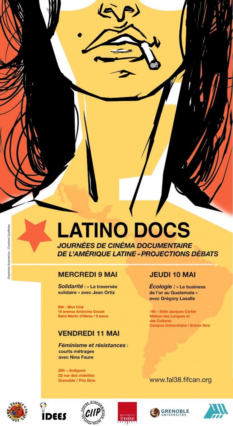 Latino Docs Grenoble du 9 au 11 mai