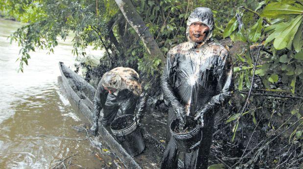 Désastre écologique en Amazonie péruvienne.