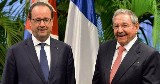 Renforcement des relations entre la France et Cuba