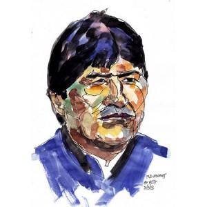 Un référendum perdu par Evo Morales