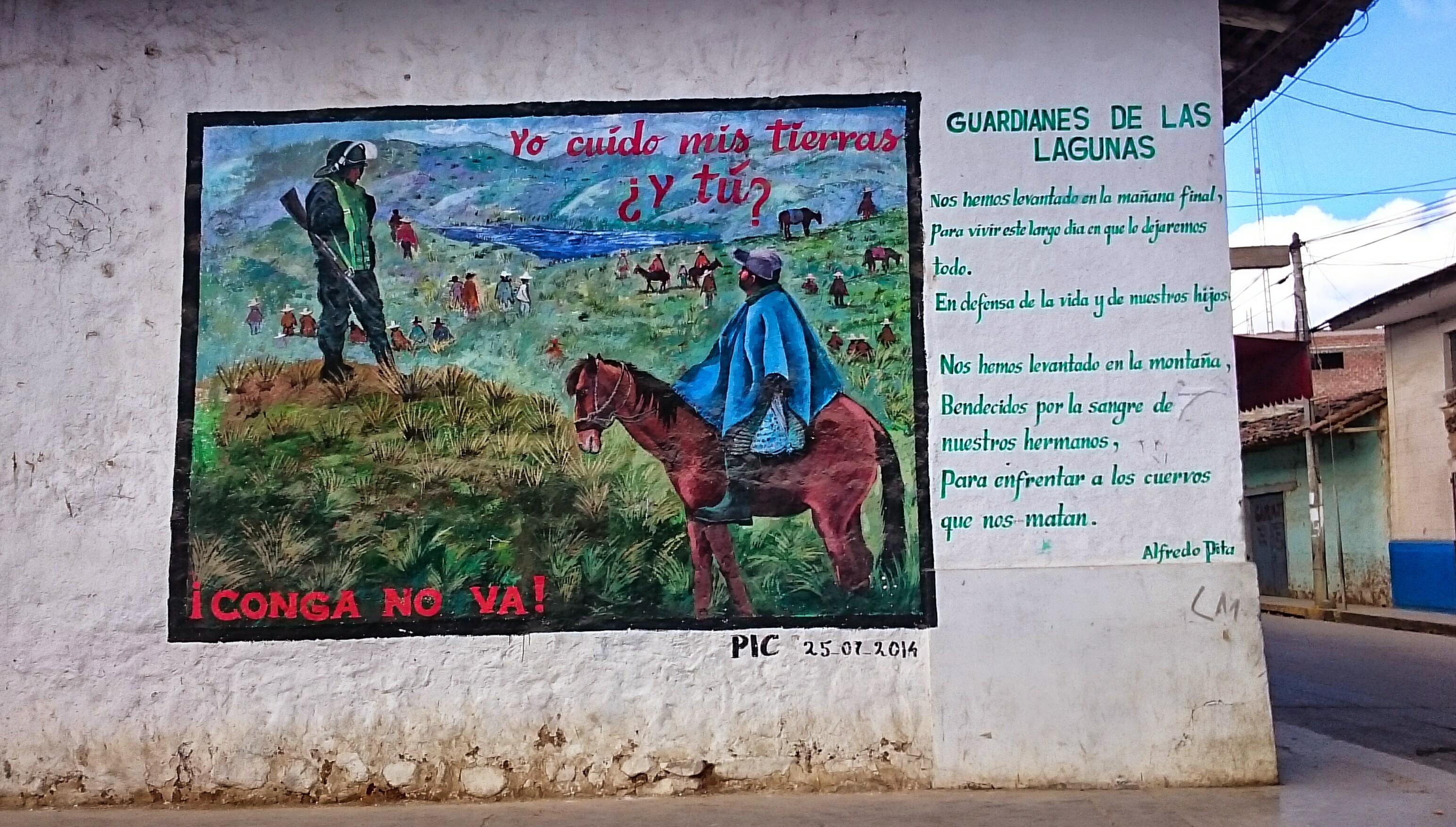 Pérou: Une lueur d'espoir dans la lutte contre le méga projet minier Conga. Perú: Una luz de esperanza en la lucha contra el mega proyecto minero Conga.