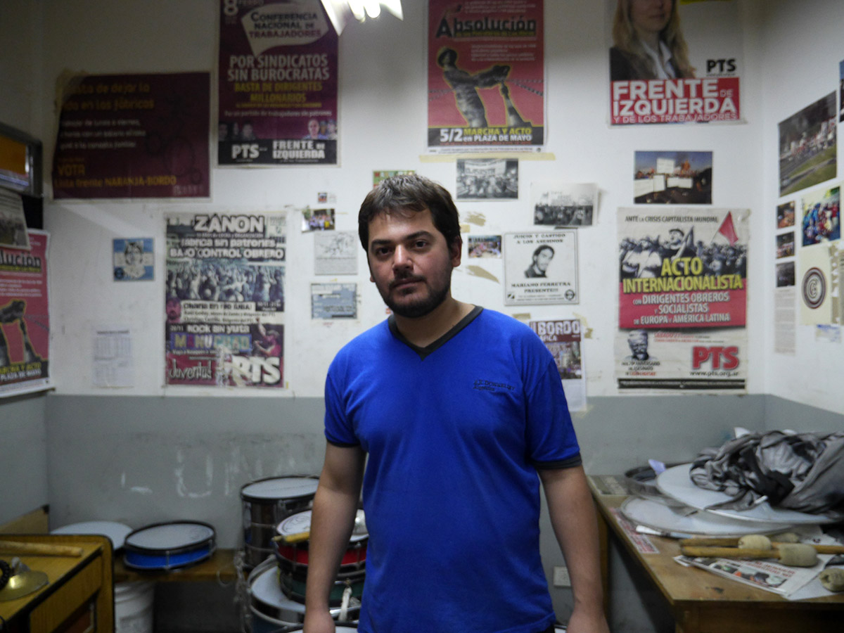 Jorge-Medina-dans-le-local-syndical-de-MadyGraf