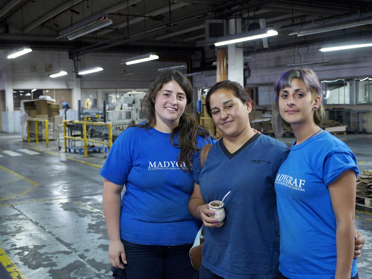 MadyGraf : les défis d'une usine sans patron à Buenos Aires