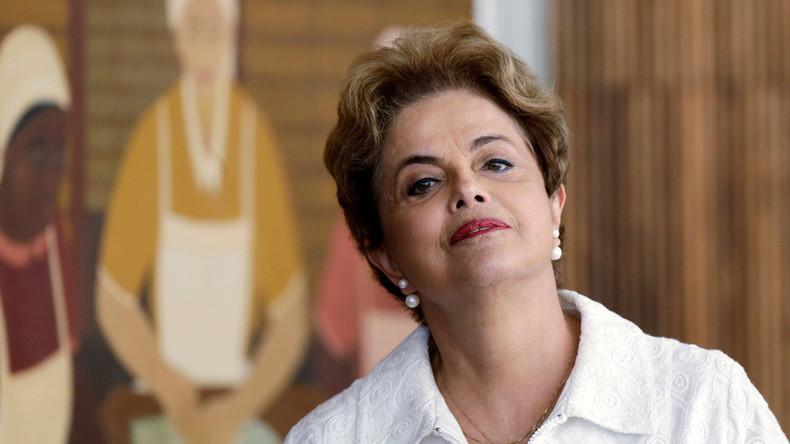 Dilma Rousseff : «Ma destitution est un coup d'Etat»