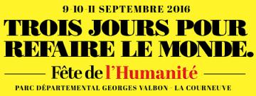 France Amérique Latine à la Fête de l'Humanité 2016 (Programme)