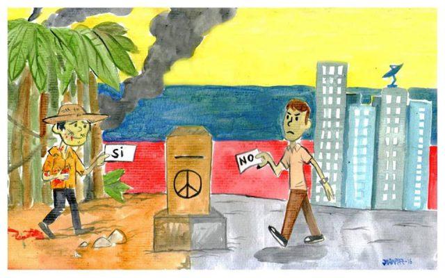 """Pourquoi le peuple colombien a voté """"NON"""" aux accord de paix? (ES)"""