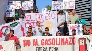Une révolte sociale au Mexique