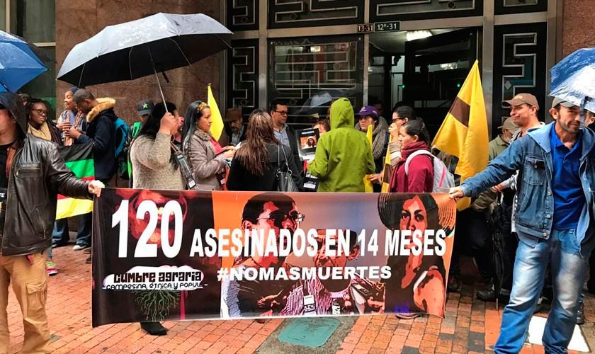 Communiqué France Amérique Latine-Cumbre Agraria, Campesina, Etnica y Popular  #NoMasMuertes