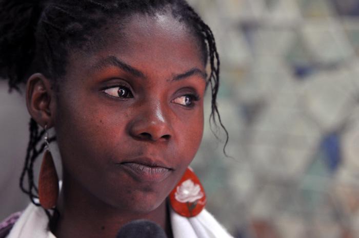 Rencontre avec Francia Márquez, Prix National pour la Défense des Droits Humains en Colombie