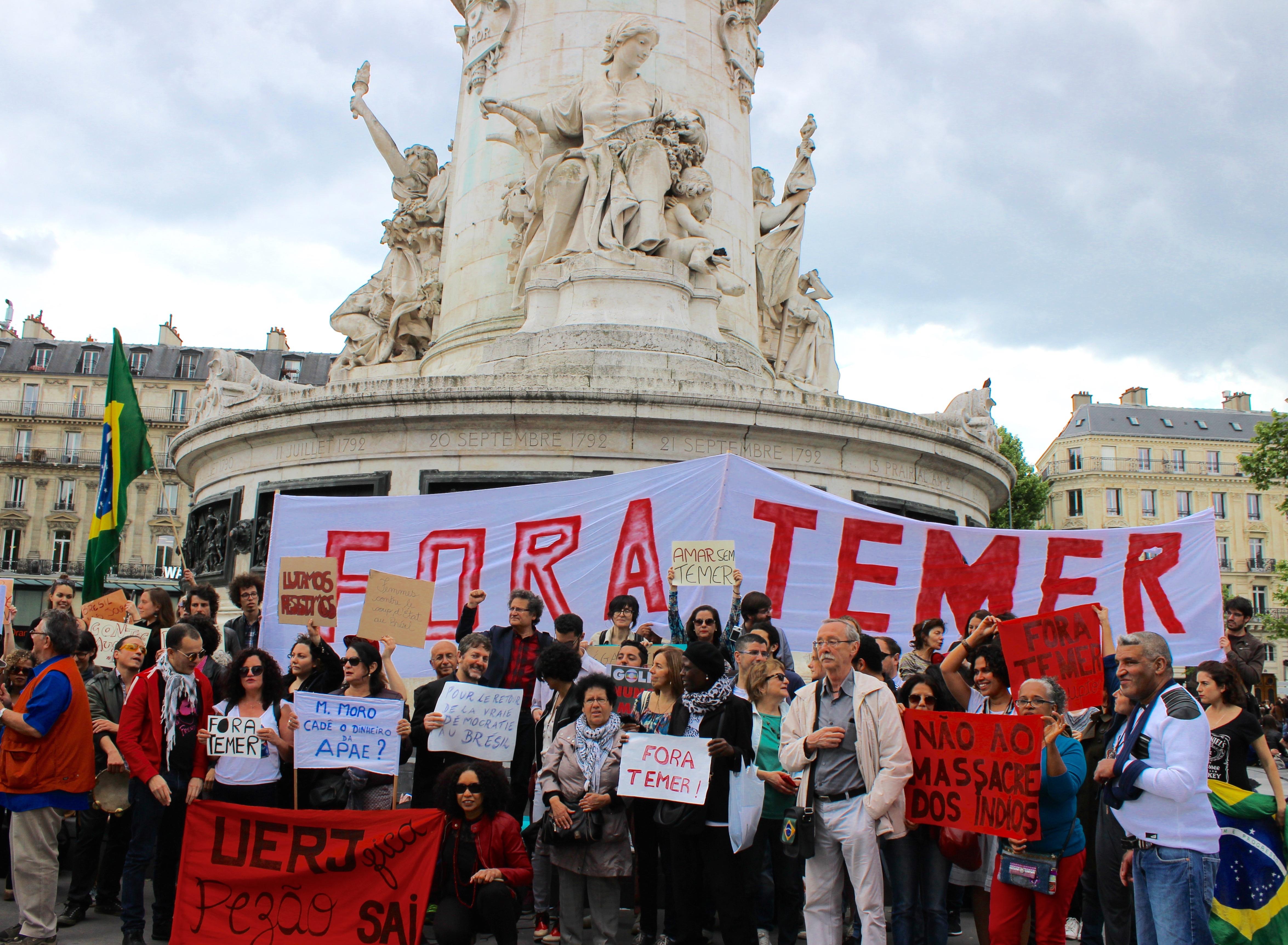 FAL solidaire avec les Brésilien.e.s opposé.e.s aux politiques d'austérité de Michel Temer