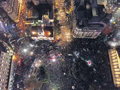 Un rechazo que se convirtió en inmensa multitud