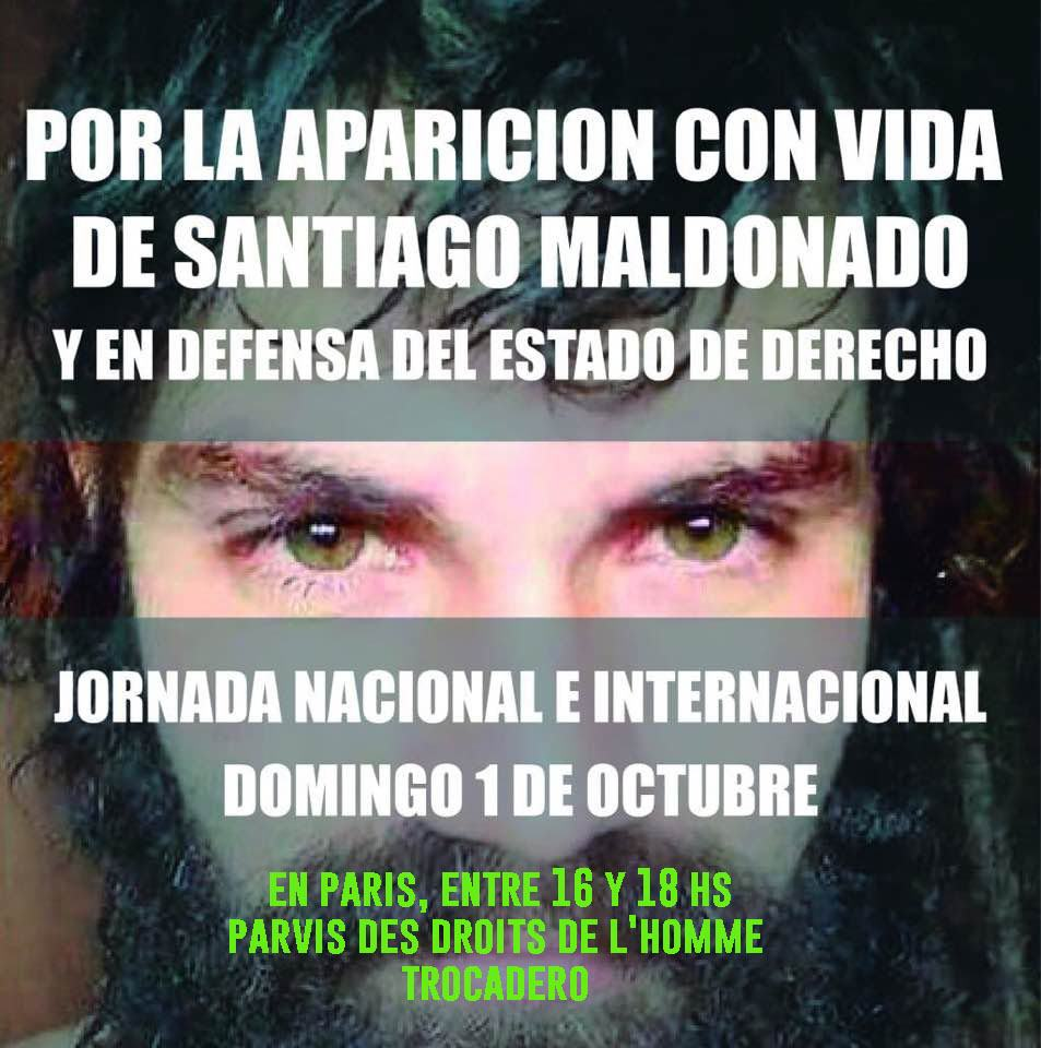 « Réapparition en vie de Santiago Maldonado ! »