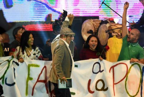Colombie. L'ex-guérilla lance le coup d'envoi de la Farc (Cathy Dos Santos/ L'Humanité)