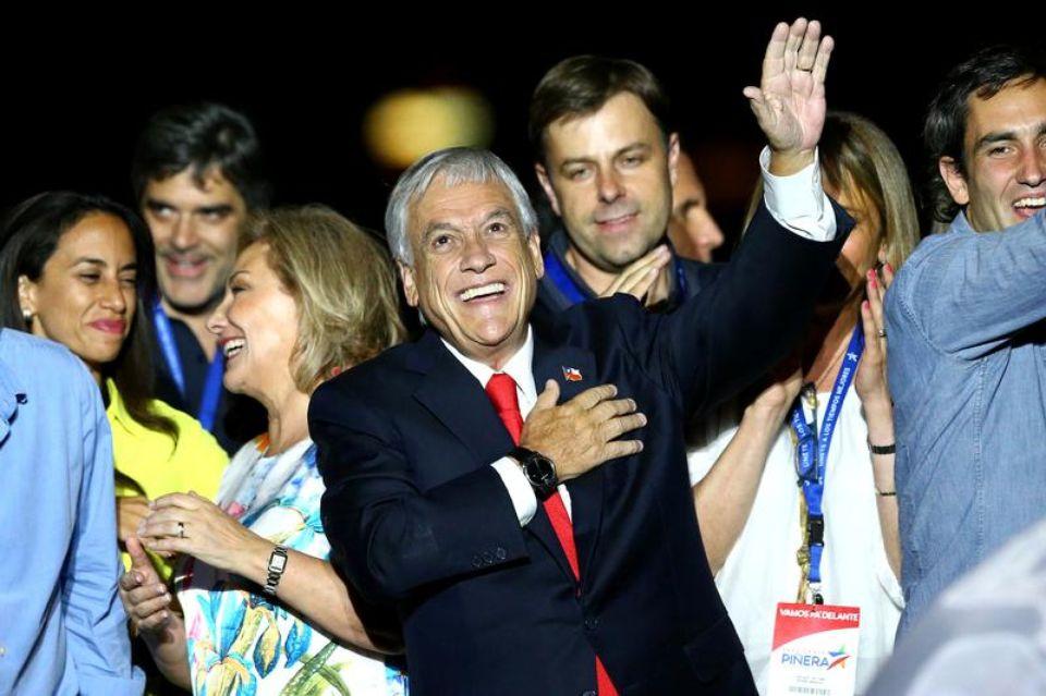 Au Chili, le milliardaire Piñera revient aux affaires (François-Xavier Gomez/ Libération)