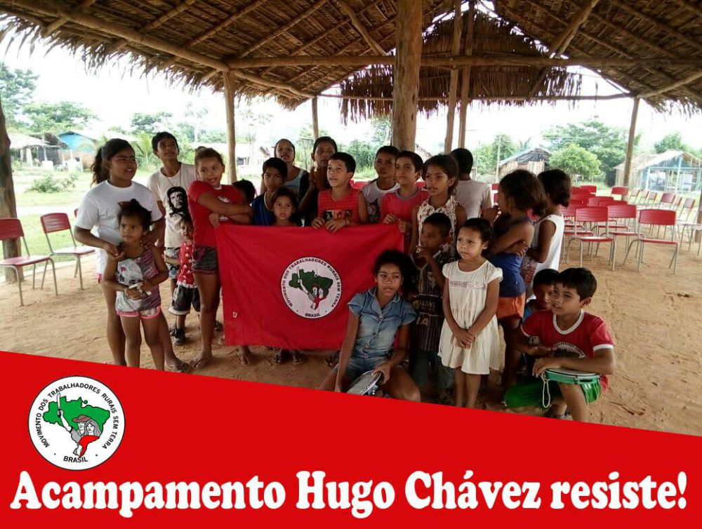Urgent : appel à la solidarité contre les expulsions forcées des campements des Travailleurs sans Terre au nord du Brésil