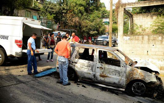 Le Mexique a connu son année la plus meurtrière en vingt ans (Frédéric Saliba/Le Monde)