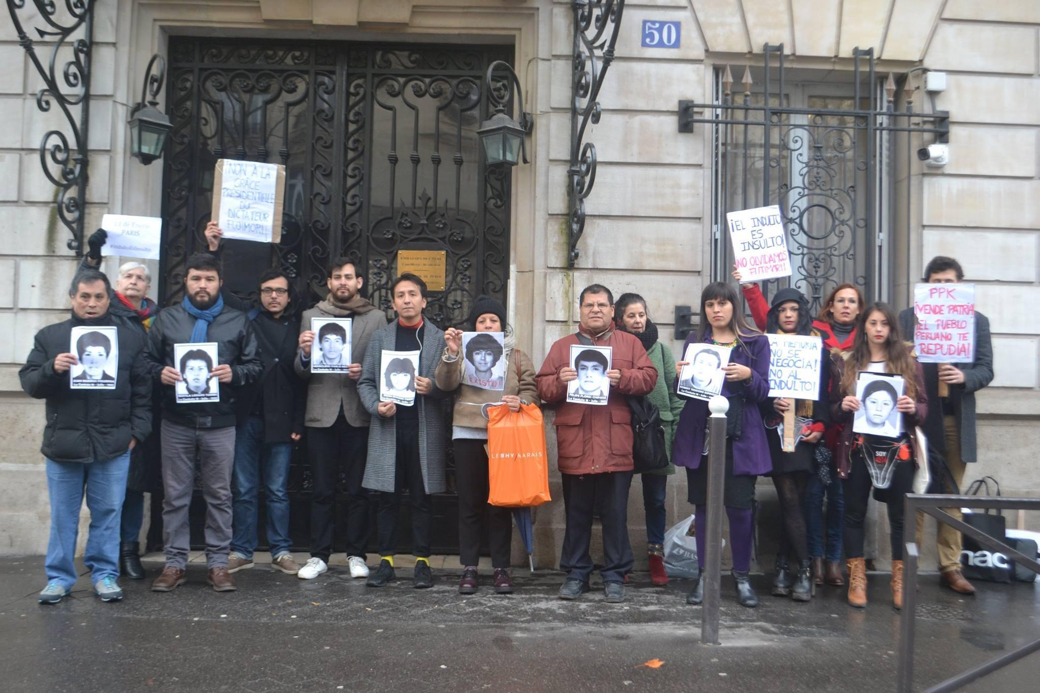 Comunicado desde Paris a la Comunidad Internacional a propósito de la grave amenaza que sufre la democracia en Perú