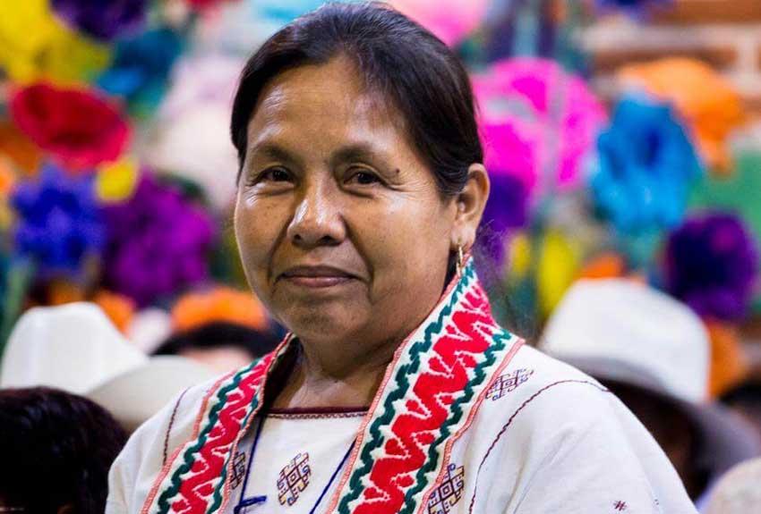 María de Jesús Patricio Martínez aspirante à la présidence du Mexique: histoire et perspective d'une lutte pour la dignitéindigène (Ophélie Parent/ Blog Femmes en terres indiennes) .