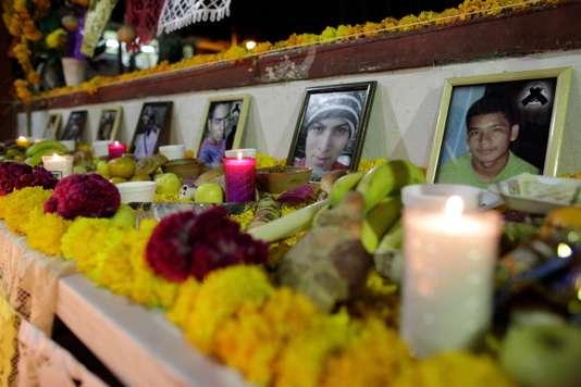 Au Mexique, l'ONU accuse les autorités de torture dans l'affaire des 43 disparus d'Ayotzinapa (Frédéric Saliba/ Le Monde)