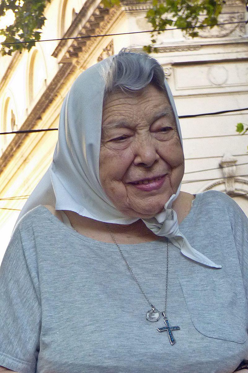 Argentine: décès d'Elsa Massa, l'une des Mères de la Place de Mai (Jean-Jérôme Destouches/TV5 Monde)