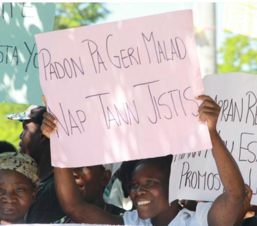Lettre à l'ONU : Justice pour les victimes du choléra en Haïti
