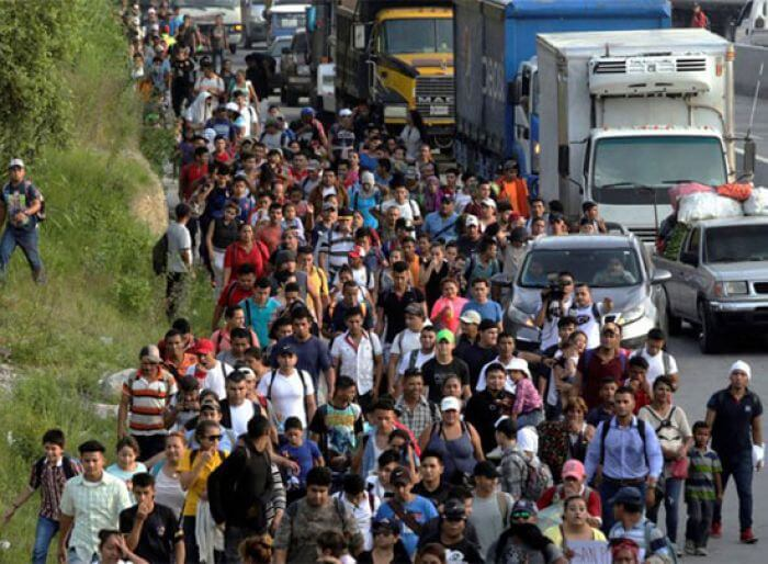 Du Honduras aux États-Unis, avec les passagers de la «caravane» (articles de Emmanuëlle Steels -Libération et de Christophe Ventura-Mémoire des Luttes)
