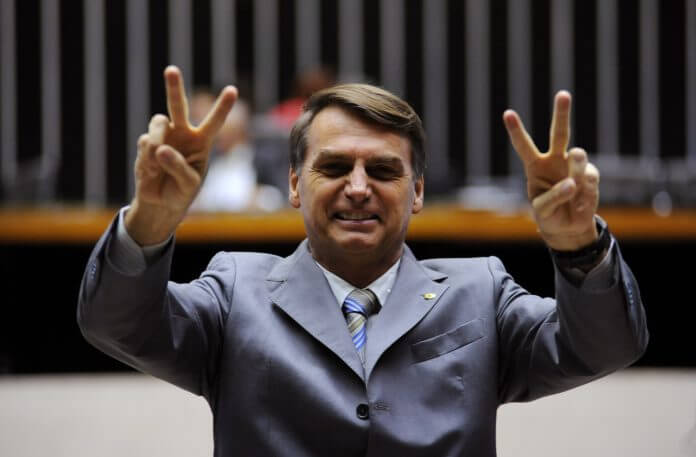 Le président brésilien Jair Bolsonaro facilite l'accès aux armes à feu (François Cardona/RFI)