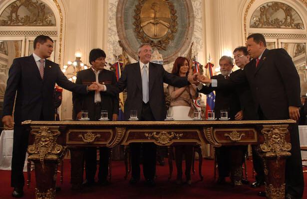 Dossier : l'Amérique latine, bilan du cycle de gouvernements progressistes et mobilisations nouvelles (Revue Contretemps)