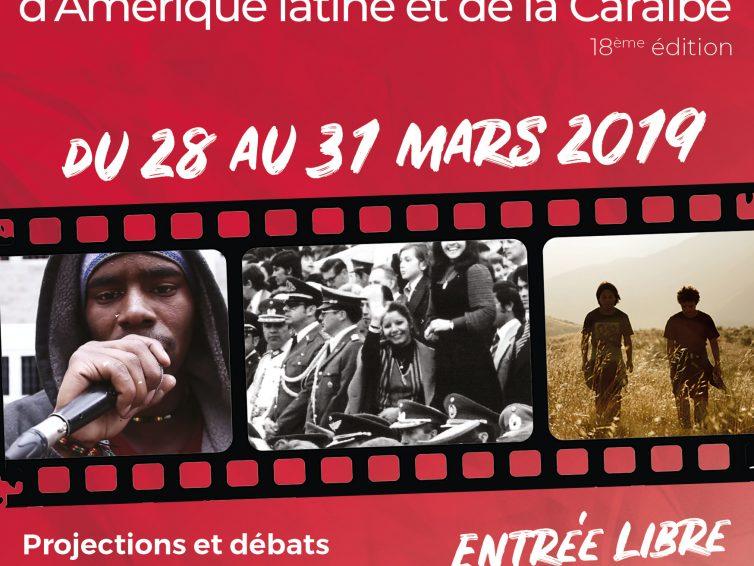 Rencontres du Cinéma de l'Amérique latine et de la Caraïbe en Île de France du 28 au 31 mars 2019