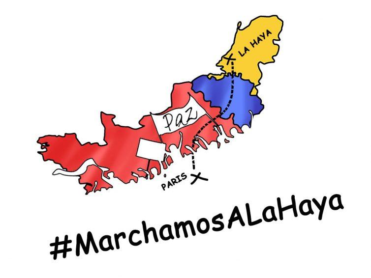 Campagne de dons: Marche de Paris à la Haye