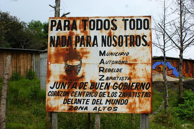 Au Mexique, les zapatistes du Chiapas s'opposent aux grands projets nuisibles  Jérôme Baschet / Reporterre