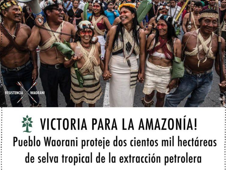 Équateur : victoire des Waorani contre l'industrie pétrolière (AFP – Géo/ Actulatino/Espaces Latinos)