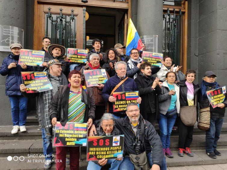 Colombie : les assassinats de leaders civiques dénoncés devant la justice internationale. Guylaine Roujol Perez / Le Parisien