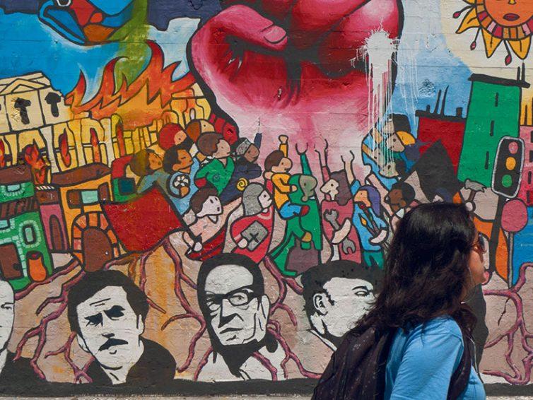 Marée féministe au Chili (Franck Gaudichaud/ Monde Diplomatique)