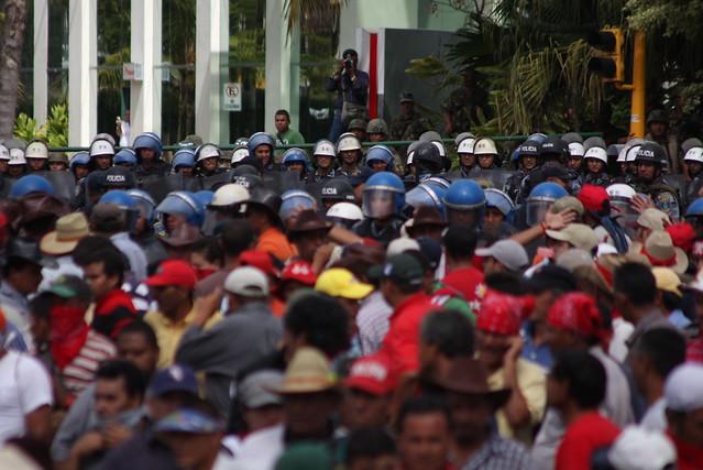 «Depuis dix ans, le Honduras est plongé dans le chaos» (Caroline Protat / Libé)