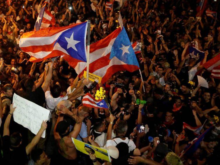 La pression citoyenne éjecte le gouverneur de Porto Rico (François-Xavier Gomez/ Libération)