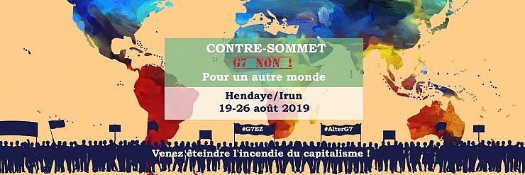 Dossier: G7 et contre-G7 à Biarritz.