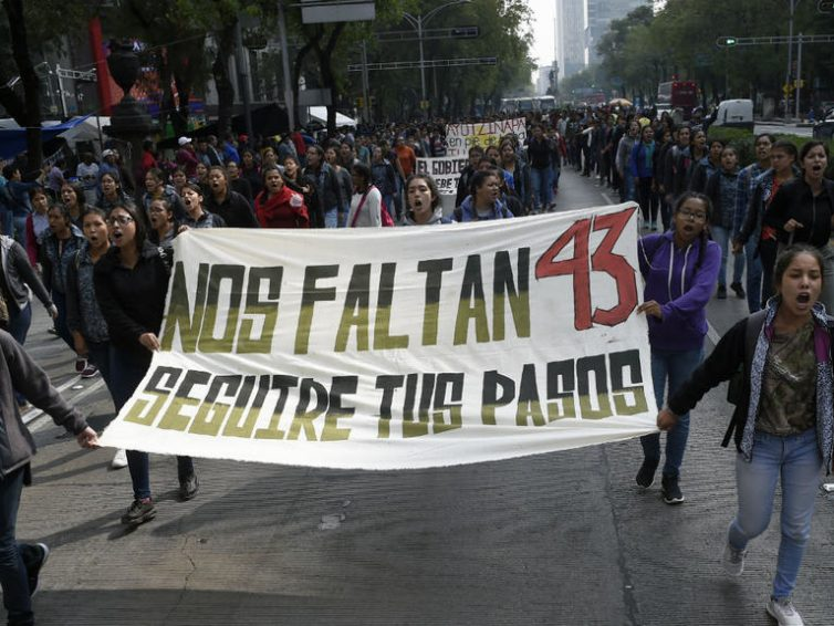Cinq ans après, le Mexique attend toujours des réponses sur la disparition des 43 étudiants (Romain Houeix/ France 24)