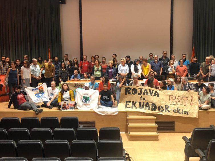 Solidarité avec les peuples du Rojava et d'Équateur